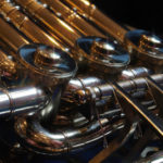 金管楽器の低音域のプレスについてレッスンしました
